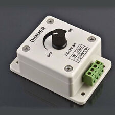Adjustable 12V 8A PIR Sensor LED Strip Light Switch Dimmer Brightness Controller