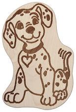 Frühstücksbrett Frühstücksbrettchen in Tierform unverleimt  Hund - Dalmatiner