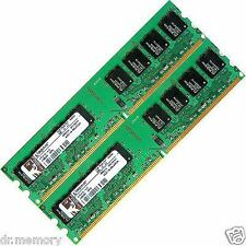 4gb 2x2gb di memoria RAM Dell OptiPlex 740 745 755 760 USFF SFF PC DESKTOP MINITOWER