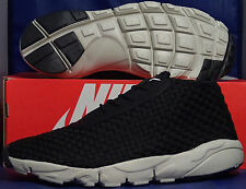 Nike Air Footscape Desert Chukka Black Mortar Woven SZ 10.5 ( 652822-002 )