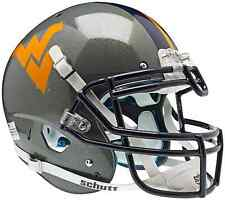 WEST VIRGINIA MOUNTAINEERS Schutt AiR XP AUTHENTIC Football Helmet WVU (GRAY)