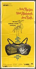 THE BLISS OF MRS. BLOSSOM Shirley Maclaine 1968 3 SHEET 41' x 81'  Movie Poster