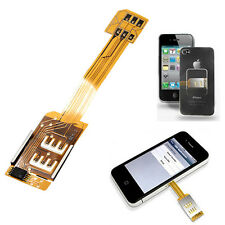 Two SIM DUAL SIMCARD DOUBLE CHIP CARD Adapter Holder CASE FOR IPHONE 5 5S 6 BOS