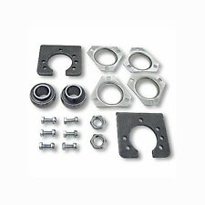 "1"" Live Axle Bearing Kit 3 Bolt Drift Trike Go Kart Mini Bike Bearings & Hangers"