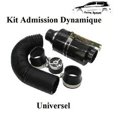 Kit D'admission Direct Dynamique Carbon Universel Boite Filtre à Air GOLF 3,4,5