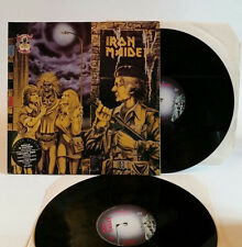 IRON MAIDEN WOMEN IN UNIFORM TWILIGHT ZONE LP VG+ EX vinile vinyl Metal Harris