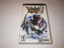 Monster Hunter Freedom 2 (Playstation PSP) Original Release Complete Excellent!
