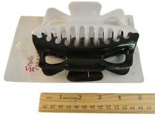 6 Style Transformer BLACK & WHITE Combo Jaw Clips Jumbo Hair Claw Accessories