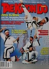11/94 TAE KWON DO TIME JUNG SUWON BLACK BELT HAPKIDO KARATE KUNG FU MARTIAL ARTS