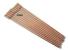 10 pcs of copper heat pipe 40cm, for solar water heater, solar hot water heating