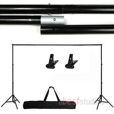 Photography Adjustable Background Support Stand Photo Backdrop Crossbar Kit
