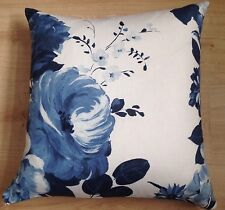 "Designers Guild Fabric Amrapali Blue Indigo Cushion Cover 18"" Double Sided"