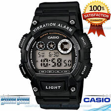 Casio W-735H1AV Sport Men Digital Watch 100M WR! Dual Time Daily Alarm 10 Year