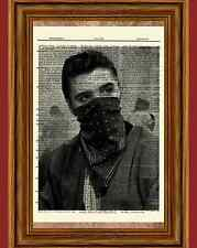 Elvis Presley Dictionary Art Print Book Page Picture Poster Vintage Bandana