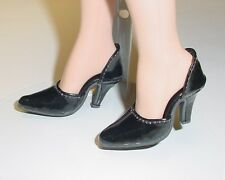 Doll Shoes, 42mm BLACK PATENT Easy to Wear for Sybarite, MA Alex
