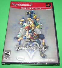 Kingdom Hearts II Playstation 2 PS2 Factory Sealed