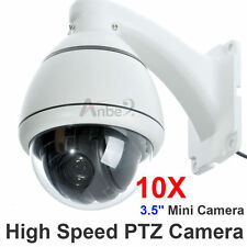 10x Zoom 1/3'' SONY CCD 700TVL High Speed PTZ CCTV MiNi Security DOME Camera SYS