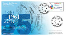 """CE67-PJ FDC Council of Europe """"1st Day 55 years European Social Charter"""" 2016"""