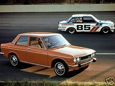 1968 Datsun 510 Coupe w/Race Ralleye car, Refrigerator Magnet, 40 MIL
