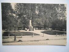 """CPA """"Toul - Monument élevé à la mémoire des victimes de 1870-1871"""""""