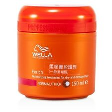 NEW Wella Enrich Moisturizing Treatment for Dry & Damaged Hair (Normal/Thick)