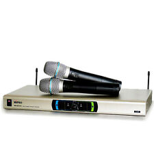 [Express Ship to Worldwide] MIPRO MR-823 UHF Diversity Reiceiver & Microphones