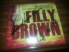 Edward James Olmos signed CD Soundtrack FIlly Brown Authentic Autograph PROOF