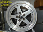 GENUINE ZENDER SPORT WHEEL 15x7 BLACK POLISHED 5x112 MERCEDES ALLOY MAG SPARE