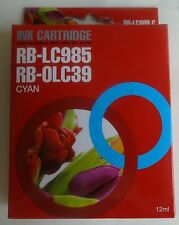 BROTHER DCP RB-LC985 C RB-0LC39 C Cyan ink cartridge NIEUW NEW (1)