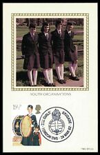 Gb UK Mk 1982 Girls brigada scouts música Music Carte maximum card mc cm bb06