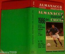 ALMANACCO ILLUSTRATO DEL CALCIO 1986=EDIZIONI PANINI=EDIZIONE LUSSO CON SOVRACOP
