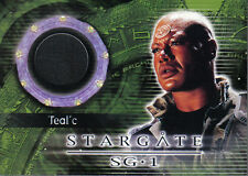 STARGATE SEASON FOUR COSTUME CARD C5 TEAL'C