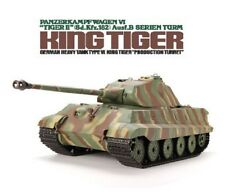1:16 German King Tiger II Porsche RC Tank Smoke & Sound Remote Control 2.4GHz