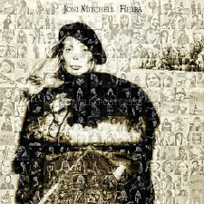 LARGE ORIGINAL PHOTO MOSAIC POSTER - JONI MITCHELL'S ALBUM HEJIRA FROM 1976 No 8