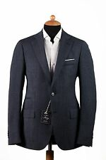 New FAY by TOD'S Wool 2Btn Jacket Sport Coat Made in Italy Blue 40US 50EU