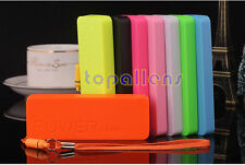 5600 mAh Portable USB Power Bank External Battery Charger Pack For iPhoneSamsung