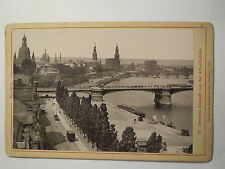 Dresden - 1899 - Altstadt von der Albrechtbrücke / KAB Hermann Poy