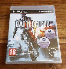 BATTLEFIELD 4 Jeu Sur Sony PS3 Playstation 3 Neuf Sous Blister VF