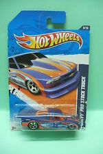 CHEVY PRO STOCK TRUCK BLEU HOT WHEELS BLISTER US 1/64