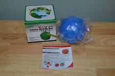 WELLOS LAUNDRY WASHING BALL O2-ION ECO ENVIRONMENTALLY FRIENDLY WASH GO GREEN