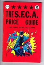 1974 S.F.C.A. PRICE GUIDE FOR COMIC BOOK COLLECTORS - only edition, near mint.