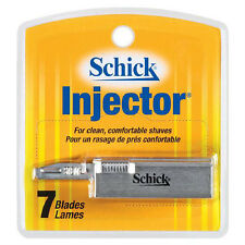 Schick Injector Blades 7 ea  durable chromium