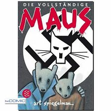 Die vollständige Maus Art Spiegelman HOLOCAUST COMIC DRAMA GRAPHIC NOVEL 30er
