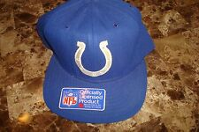 INDIANAPOLIS COLTS NEWERA 80'S   DEADSTOCK 90'S HAT CAP VINTAGE SNAPBACK