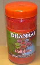 HOLI Color Powder one Jar of (12.35 ozs (350g) RED- fun colors for parties.