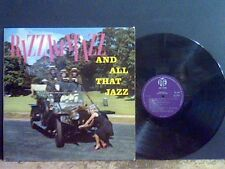LORIE MANN AND THE VISCOUNTS  Razzmatazz and all that Jazz   LP