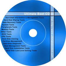 Bootable Diagnostics CD/DVD (Fix Repair Recover Clone Scan) USB at request (+$6)