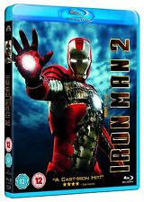 IRON MAN PART 2 Blu Ray MARVEL ORIGINAL UK Release Second Movie 2nd Film IRONMAN