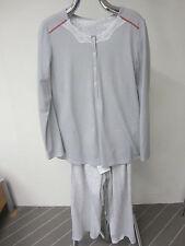 Damen Pyjama-Shirt von Rösch Art.1153134 Gr. 38 hellgrau NEU