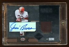 2004 LIMITED JIM BROWN / JAMAL LEWIS DUAL AUTOGRAPH JERSEY #D /25 RARE FIND